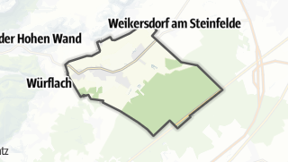 Map / Sankt Egyden am Steinfeld
