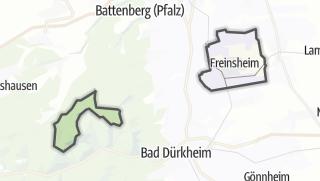Mapa / Freinsheim