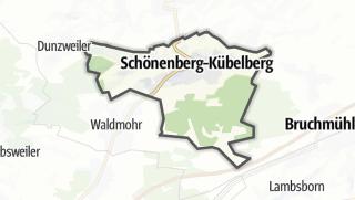 Karte / Schönenberg-Kübelberg