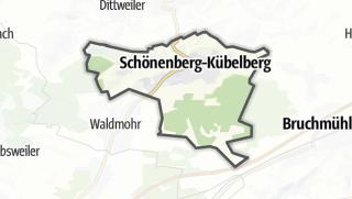 מפה / Schoenberg Kübelberg