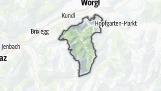 מפה / Wildschönau