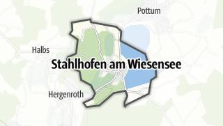 Mapa / Stahlhofen am Wiesensee