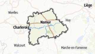 Cartina / Namur