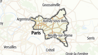 Map / Seine-Saint-Denis