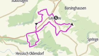 מפה / Deister-Süntel-Bueckeberg Runde