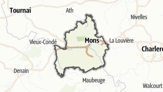 Cartina / Mons