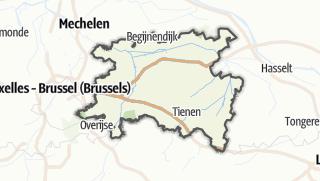 מפה / Leuven