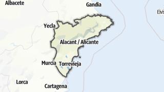 Cartina / Alicante