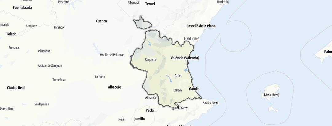 Carte / Valencia