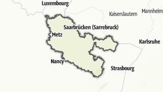 地图 / Moselle
