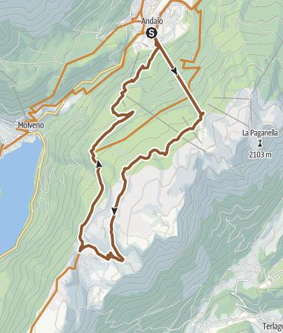 """Map / 785 """"Prati di Gaggia"""""""