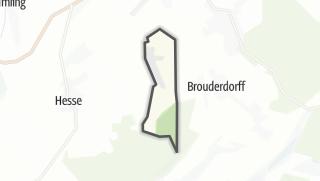 Mapa / Schneckenbusch