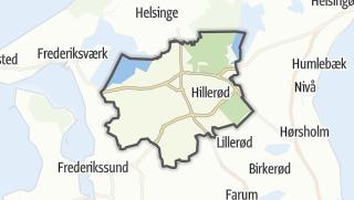 Térkép / Hillerød