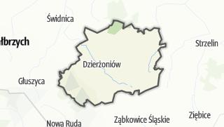 Mapa / Dzierżoniowski