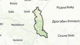 Map / Bieszczadzki