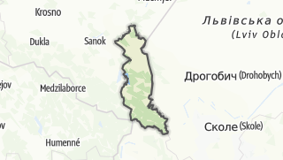 地图 / Bieszczadzki