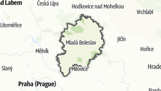 Cartina / Mladá Boleslav