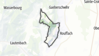 Mapa / Westhalten