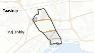 Térkép / Vallensbæk