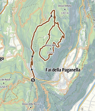 "Map / 793 ""Panoramico Fausior"""