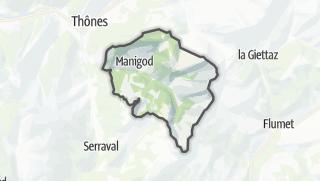 Karte / Manigod