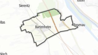 מפה / Bartenheim