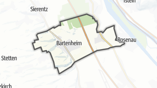 Mapa / Bartenheim