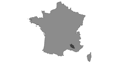 Mapa / Vaucluse