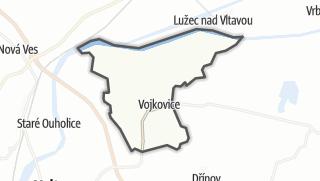 Karte / Vojkovice