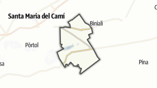 Map / Santa Eugènia