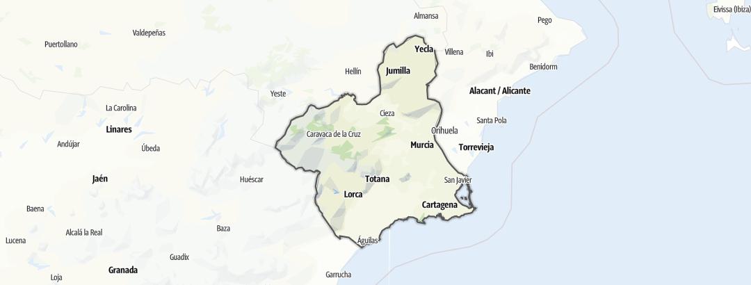 Карта / Murcia