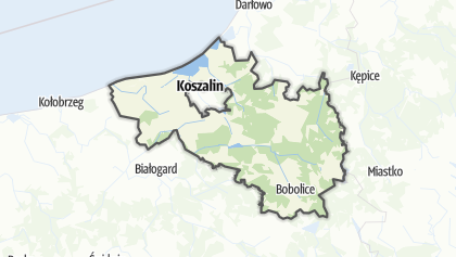 Карта / Koszalinski