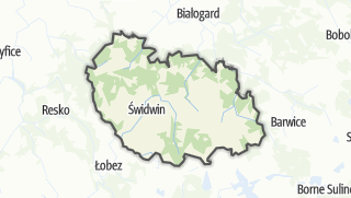 Карта / Swidwinski