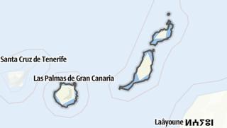 Carte / Las Palmas