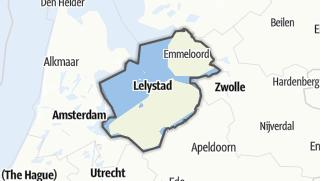 Karte / Flevoland