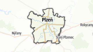 地图 / Plzeň-město