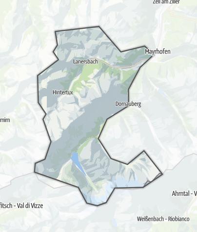 Karte / Tux-Finkenberg