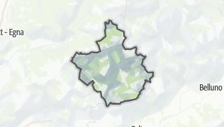 Karte / San Martino di Castrozza, Primiero, Vanoi