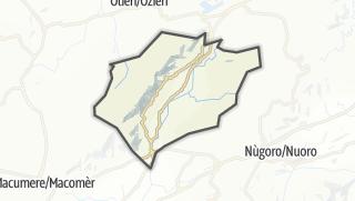 Karte / Goceano