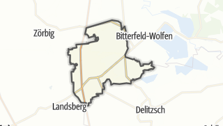 Carte / Sandersdorf-Brehna
