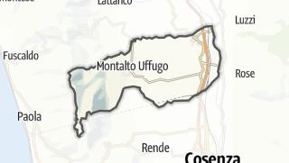 Térkép / Montalto Uffugo