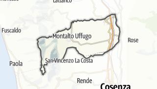 Mapa / Montalto Uffugo