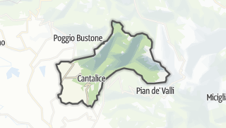 Mapa / Cantalice