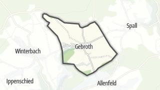 Karte / Gebroth
