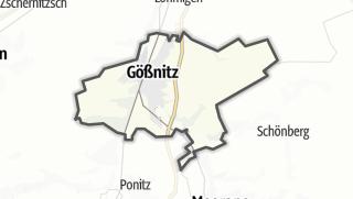 מפה / Gößnitz