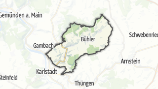 Cartina / Eußenheim