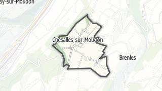 Карта / Chesalles-sur-Moudon