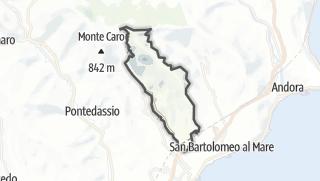 地图 / Diano San Pietro