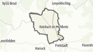 Carte / Rainbach im Mühlkreis