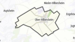 Karte / Ober-Hilbersheim